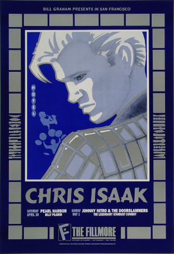 Chris Isaak New Fillmore Poster F125