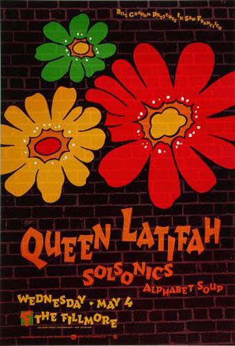 Queen Latifah New Fillmore Poster F128
