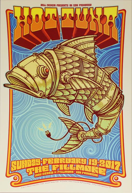 Hot Tuna New Fillmore Poster F1464
