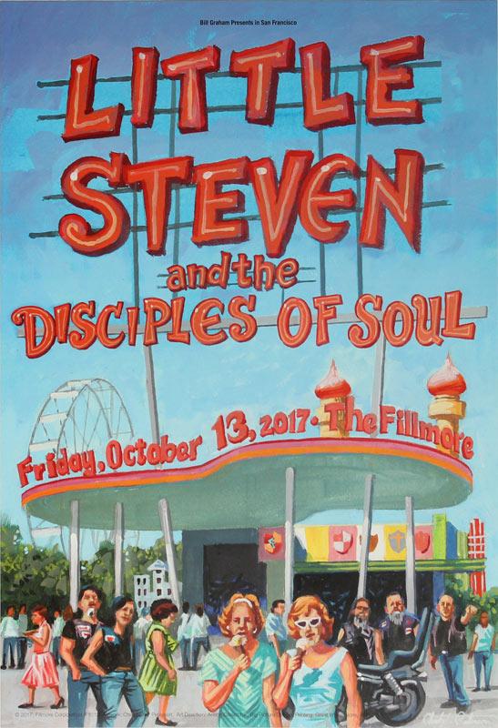 Little Steven and the Disciples of Soul  (Steve Van Zandt) New Fillmore F1512 Poster