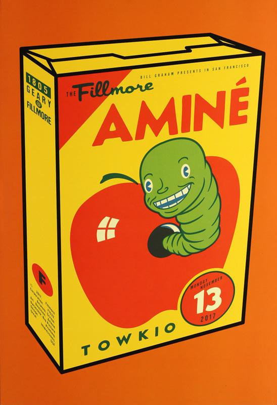 Aminé New Fillmore Poster F1532