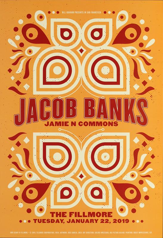 Jacob Banks  Fillmore F1619 Poster