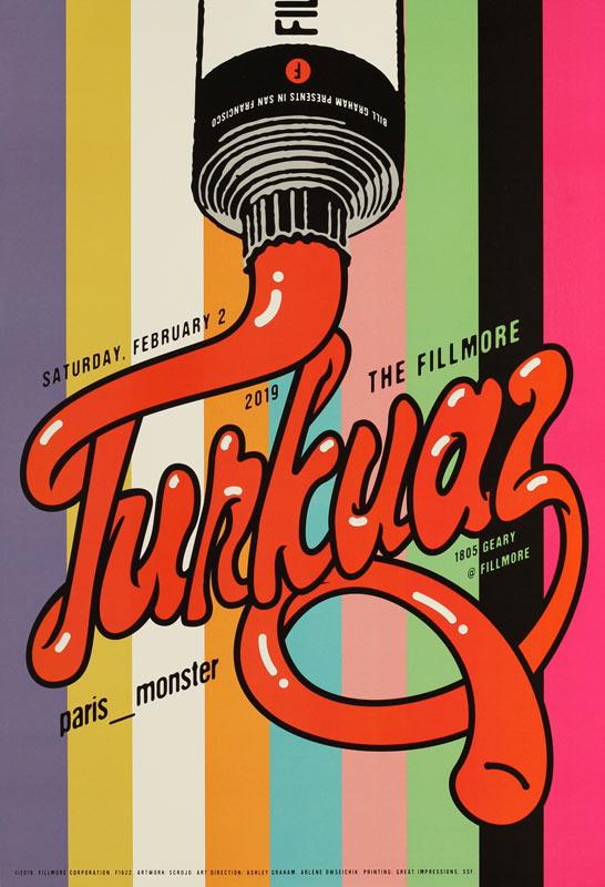Turkuaz  Fillmore F1622 Poster
