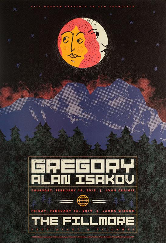 Gregory Alan Isakov  Fillmore F1624 Poster