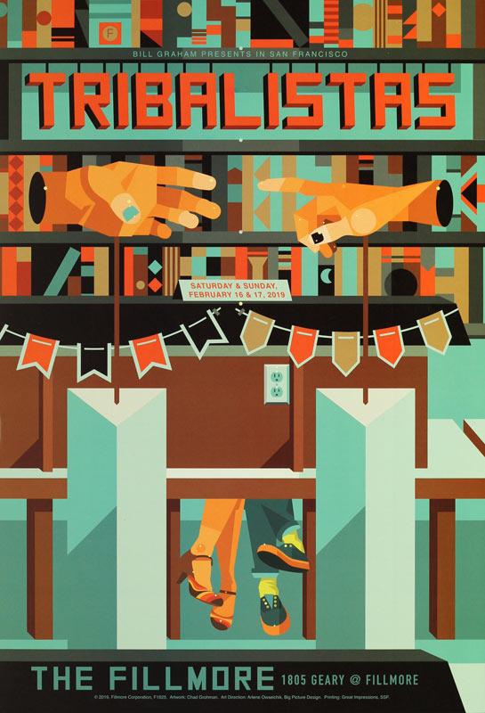 Tribalistas  Fillmore F1625 Poster