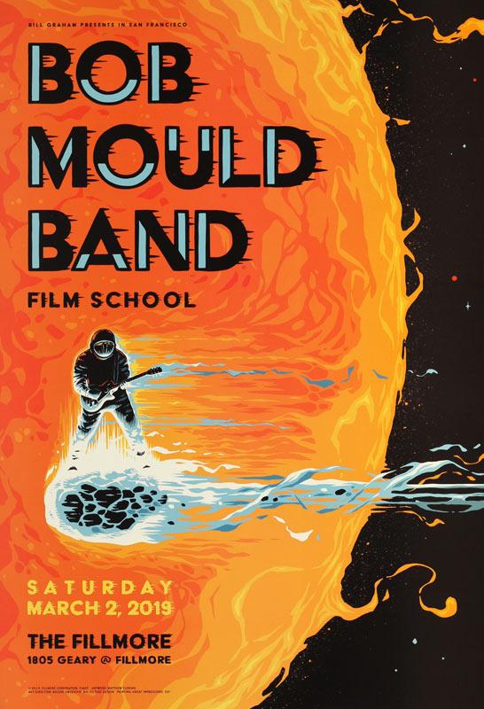 Bob Mould Band  Fillmore F1627 Poster