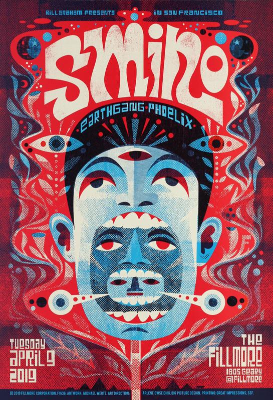 Smino  Fillmore F1636 Poster