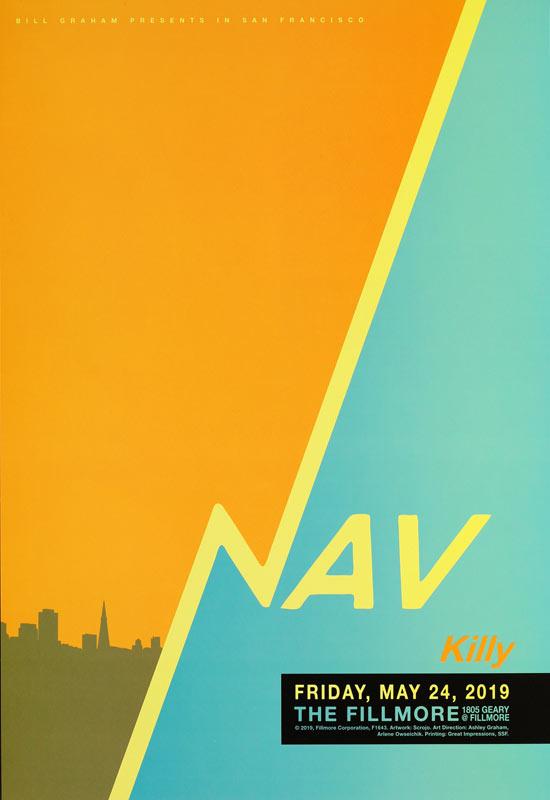 Nav  Fillmore F1643 Poster