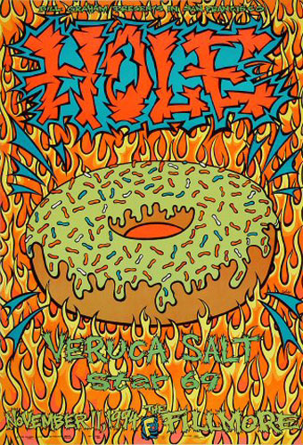 Hole New Fillmore Poster F170