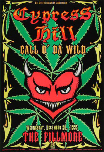 Cypress Hill New Fillmore F205 Poster