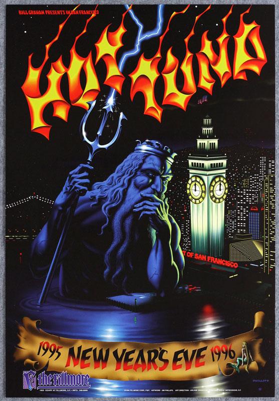 Hot Tuna New Fillmore Poster F207
