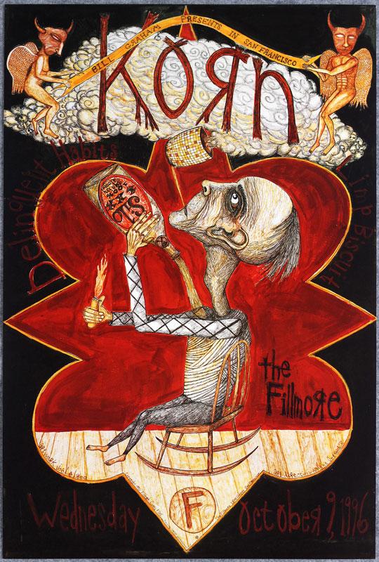 Korn 1996 Fillmore F241 Poster