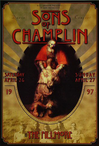 The Sons Of Champlin New Fillmore Poster F267