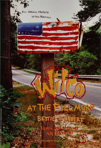 Wilco New Fillmore Poster F271