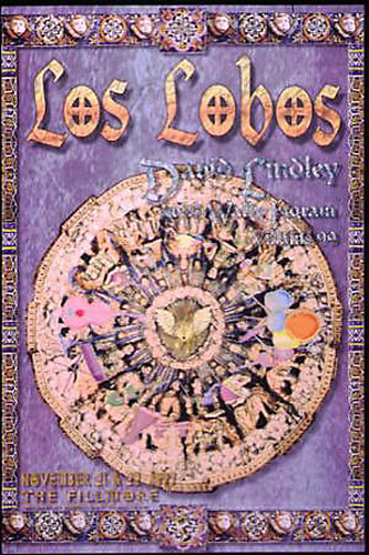 Los Lobos New Fillmore F302 Poster