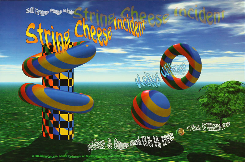 String Cheese Incident  New Fillmore Poster F318