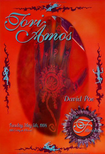 Tori Amos  New Fillmore Poster F326