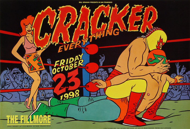 Cracker New Fillmore Poster F345