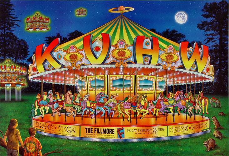 KVHW February 1999 Fillmore Poster