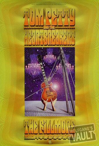 Tom Petty &The Heartbreakers New Fillmore Poster F368