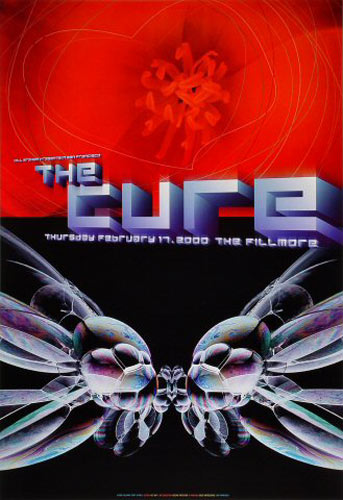 Cure New Fillmore F396 Poster