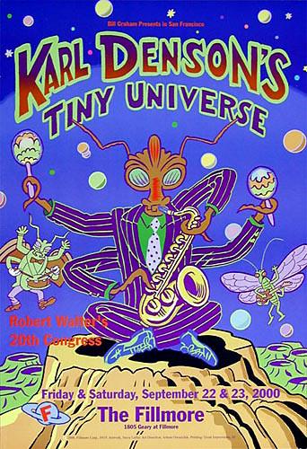 Karl Denson's Tiny Universe New Fillmore F419 Poster