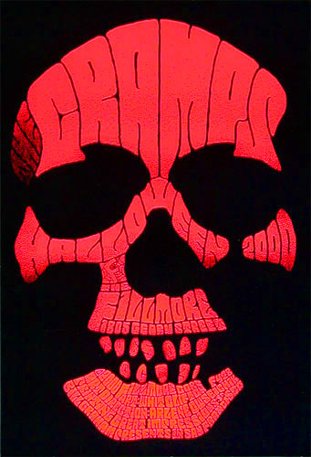 The Cramps New Fillmore F428 Poster