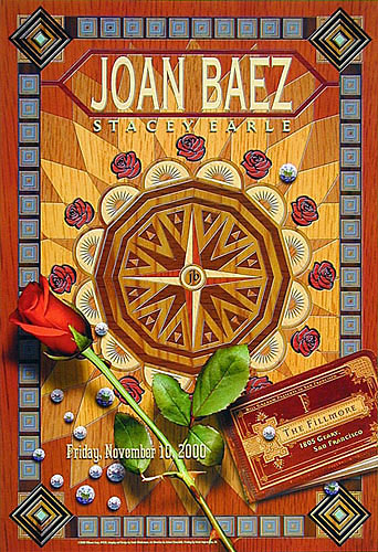 Joan Baez New Fillmore F430 Poster
