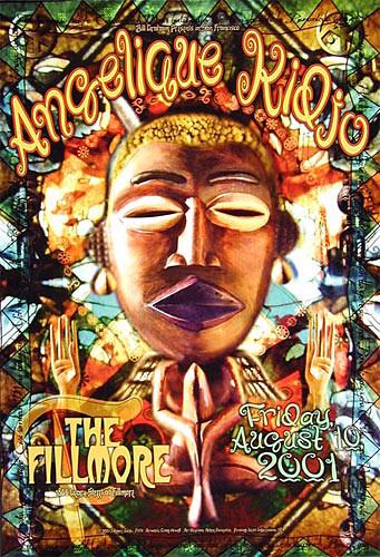 Angelique Kidjo New Fillmore Poster F474