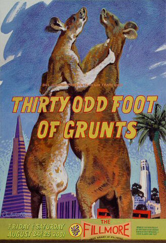 Thirty Odd Foot of Grunts  New Fillmore F477 Poster