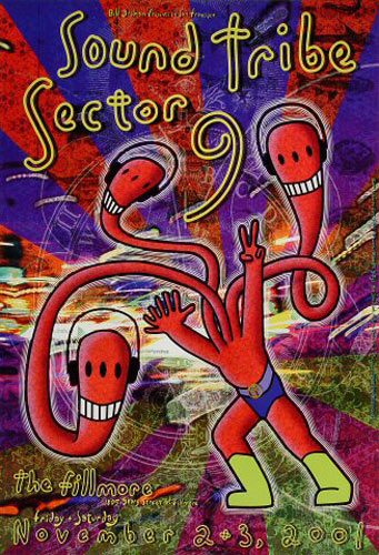 Sound Tribe Sector 9 New Fillmore Poster F486