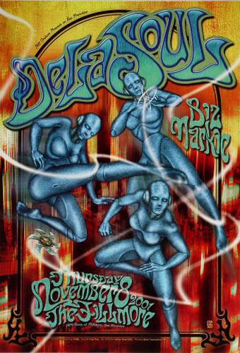 De La Soul New Fillmore Poster F489