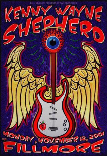Kenny Wayne Shepherd New Fillmore Poster F492