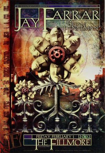 Jay Farrar New Fillmore Poster F508