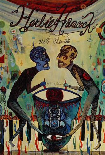 Herbie Hancock New Fillmore Poster F515