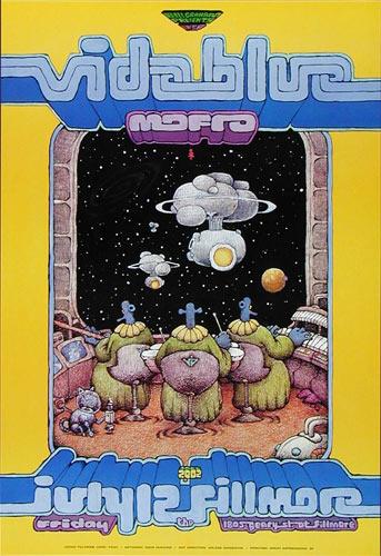Vida Blue 2002 Fillmore F530a Poster