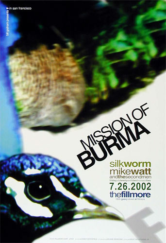 Mission of Burma New Fillmore F531 Poster