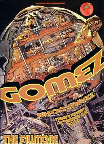 Gomez New Fillmore Poster F540