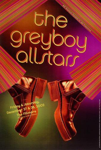 Greyboy Allstars New Fillmore F550 Poster