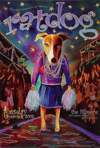 Ratdog New Fillmore F557 Poster