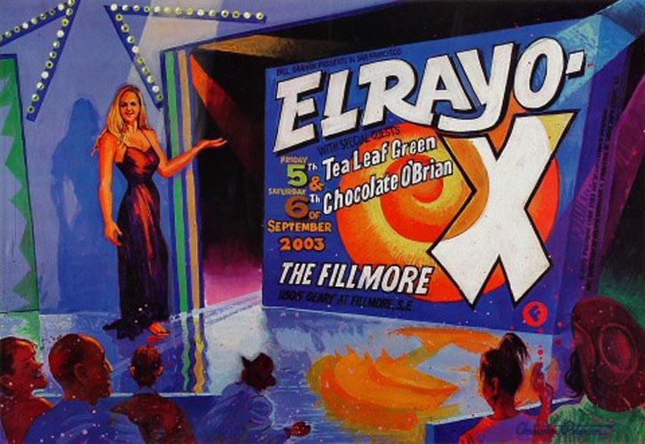 El Rayo-X New Fillmore F583 Poster