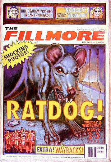Ratdog New Fillmore F610 Poster