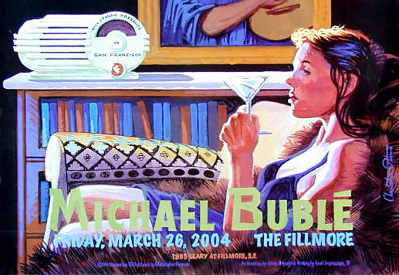 Michael Bubblé  New Fillmore F613 Poster