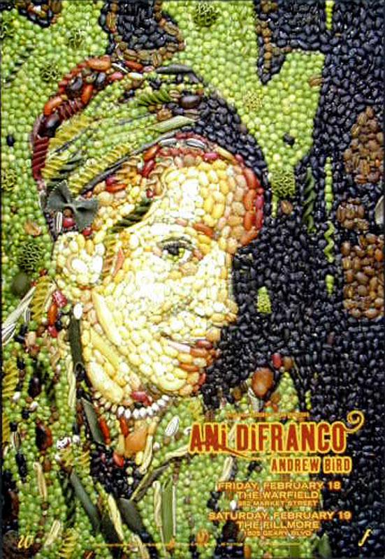 Ani DiFranco New Fillmore Poster F679