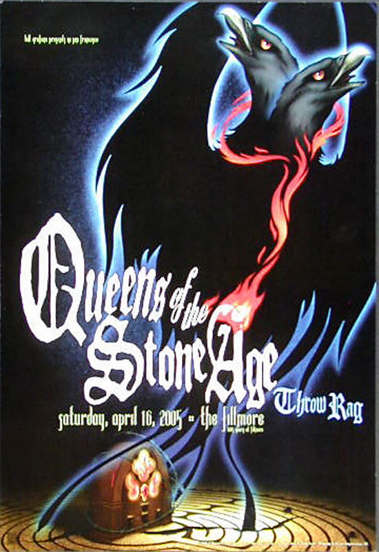 Queens of the Stone Age New Fillmore Poster F683