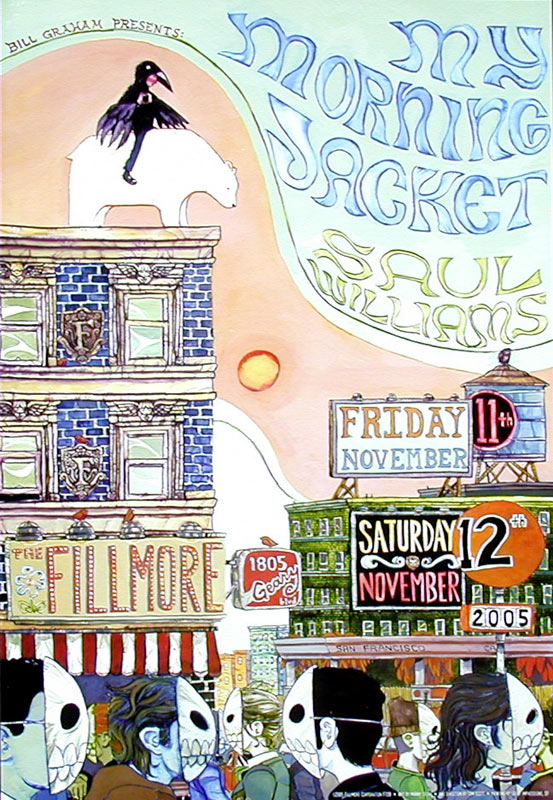 My Morning Jacket New Fillmore Poster F728