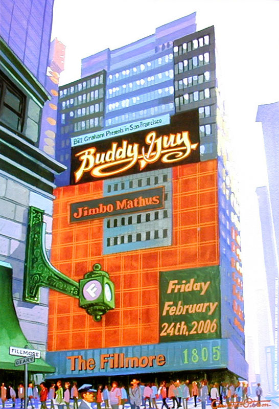 Buddy Guy New Fillmore Poster F759