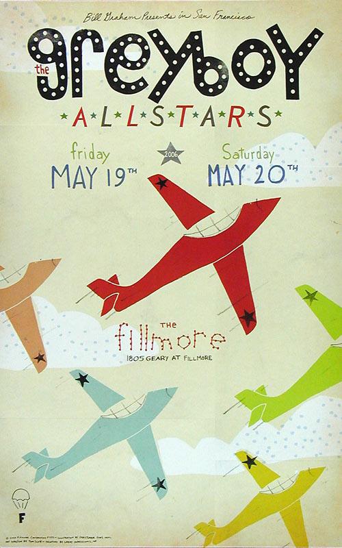 The Greyboy Allstars 2006 Fillmore F777 Poster