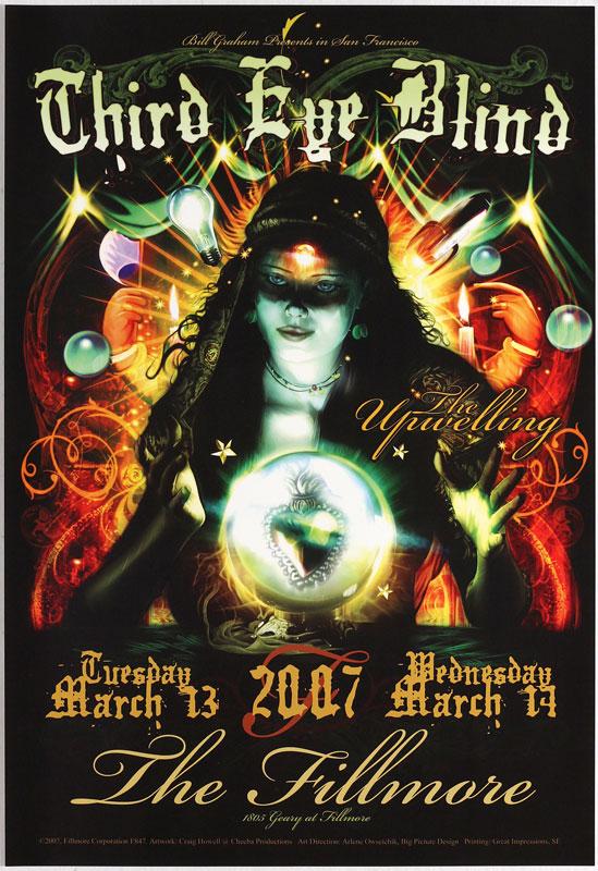 Third Eye Blind New Fillmore Poster F847