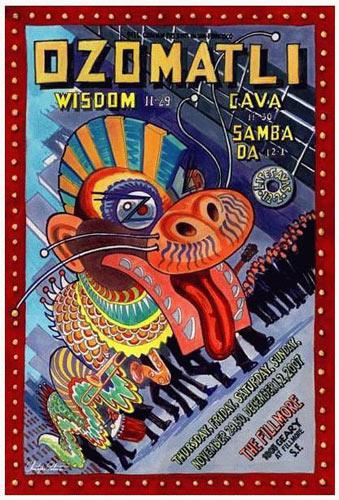 Ozomatli New Fillmore F907 Poster